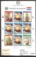 PARAGUAY  Ships  FDC - Ships