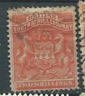 Compagnie Britannique De L'afrique Du Sud - Yvert N°4 Oblitéré  - Ad27405 - Other