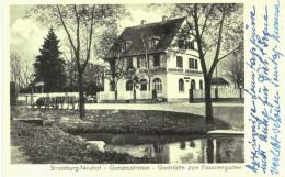 Strasbourg Ganzaustrasse - Neuhof - Ganzau - Gasthof Zum Fasanengarten - Strasbourg