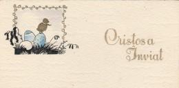 Romania - Easter Greetings Card - Pâques