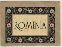 Romania - Beverage Label- 115x85mm - Etiquettes
