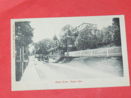 QUEBEC / GASPE  1902  BAKER HOTEL / GASPE QUE   CIRC NON EDITION - Gaspé
