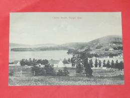QUEBEC / GASPE  1902   CINDRE BEACH   / GASPE QUE   CIRC NON EDITION - Gaspé