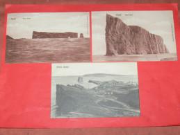 QUEBEC / GASPE  1902   PERCE ROCK   / GASPE QUE / VUE GENERALE   CIRC NON EDITION - Gaspé