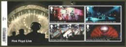 GB 2016 PINK FLOYD POP ROCK MUSIC LIVE TOURS M/SHEET MNH - 1952-.... (Elizabeth II)
