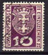 Danzig Portomarken 1921 Mi 1, Gestempelt [100716XVII] - Danzig