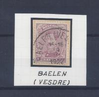 N°140 (ntz) GESTEMPELD Baelen(vesdre) - 1915-1920 Albert I.