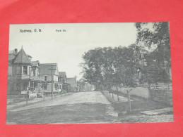 SIDNEY /  CAPE BRETON   1902   PARK STREET   CIRC NON EDITION - Cape Breton