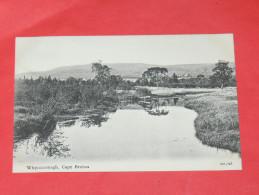 SIDNEY /  CAPE BRETON   1902  WHYROCOMAGH  CIRC NON EDITION - Cape Breton