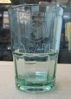 AC - BACARDI RUM GLASS / TUMBLER With LOGO - Verres