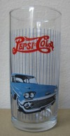 AC - PEPSI COLA - CAR - AUTOMOBILE ILLUSRATED GLASS #1 FROM TURKEY - Verres