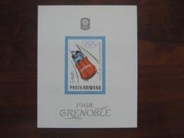Romania 1968 MNH - Winter 1968: Grenoble
