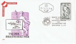 ARC-L24 - AUTRICHE FDC Journée Du Timbre Graz 1968 - Journée Du Timbre