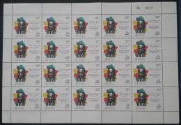 Lebanon 2007 Mi. 1477 MNH - 100th Anniv Of Leopold Sedar Senghor - Phrancophony -  FULL SHEET 20 Stamps - Lebanon