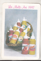 Romania Old Small Calendar - 1997 - SC Mircorom SRL - Calendari