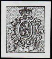 1866. Weapon.Without Value. Essay. Black On Bluish Paper.  (Michel: ) - JF194641 - Probe- Und Nachdrucke