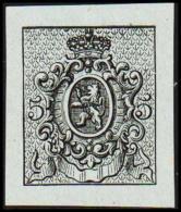 1866. Weapon.Without Value. Essay. Black On Bluish Paper.  (Michel: ) - JF194639 - Probe- Und Nachdrucke