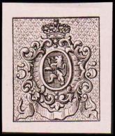 1866. Weapon.Without Value. Essay. Black On Pale Rose Paper.  (Michel: ) - JF194640 - Probe- Und Nachdrucke