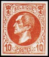 1865-1866. Leopol I. 10 CENTS Essay. Brown. (Michel: ) - JF194387 - Probe- Und Nachdrucke
