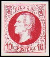 1865-1866. Leopol I. 10 CENTS Essay. Lilac. (Michel: ) - JF194388 - Probe- Und Nachdrucke