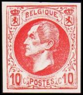 1865-1866. Leopol I. 10 CENTS Essay. Red. (Michel: ) - JF194384 - Probe- Und Nachdrucke