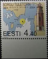 Estonia, 2004, Mi. 478, Sc. 481, SG 456, Centenary Of Sorgu Lighthouse, MNH - Fari