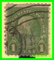 AMERICA  E.E.U.U.  UNITED STATES  SELLO  FRANKLIN  1 CENT AÑO 1922 - América Central