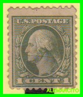 AMERICA  E.E.U.U.  UNITED STATES  SELLO  WASHINGTON  1 CENT AÑO 1912-14 NUEVO - América Central