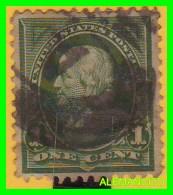 AMERICA  E.E.U.U.  UNITED STATES  SELLO  FRANKLIN  1 CENT AÑO 1894 - América Central