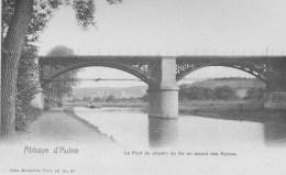 Abbaye D'Aulne.      Le Pont Du Chemin De Fer - Belgium