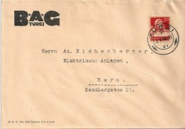 "Motiv Brief  ""BAG, Turgi""                   1926 - Schweiz"