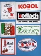 Adesivo Pubblicitario -  N° 7 Adesivi Misti.     Vedi Descrizione - Stickers