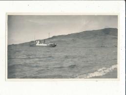 PEROU LAC TITICACA BATEAU PHOTO1922  14CM X 8CM - Pérou