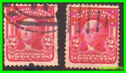 AMERICA E.E.U.U.  UNITED STATES  2 SELLOS DE WASHINGTON 2 CENTS AÑO 1930 - América Central