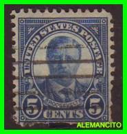 AMERICA E.E.U.U.  UNITED STATES   SELLO DE THEODORE  5 CENTS AÑO 1922 - América Central