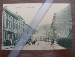 "Jemelle Grand Rue  Maison ""Au Meilleur..""  1908 (Region Rochefort) Carte Rare - Rochefort"
