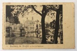 SOUVENIR DE BRUGES LE PONT DU BEGUINAGE VIAGGIATA FP - Brugge