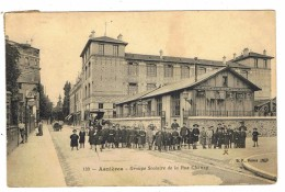 CPA 92 ASNIERES  Groupe Scolaire De La Rue Chanzy - Asnieres Sur Seine