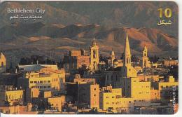 PALESTINE(chip) - Bethlehem City, 10/01, Used