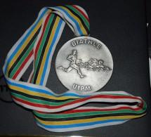 LARGE Sport Medal - BIATHLE - WORLD CHAMPIONSHIPS 2005 MEN - UIPM - Atletica