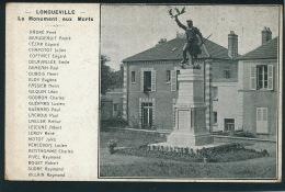 LONGUEVILLE - Le Monument Aux Morts - France