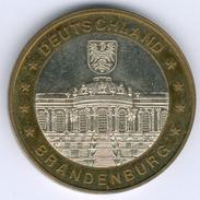 Deutschland Medaille Brandenburg Schloss Sanssouci (Bi-Metall) Kl. Kratzer, Vz - [ 7] 1949-… : RFA - Rép. Féd. D'Allemagne
