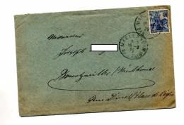 Lettre Cachet Marlenheim Sur Jeanne D'arc - Marcophilie (Lettres)