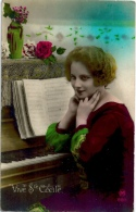 Femme Au Piano Sainte Cécile - Europe