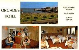 DEVON - PAIGNTON - ORCADES HOTEL (Esplanade Road) Dv827 - Paignton