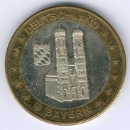 Deutschland Medaille Bayern Dom/Frauenkirche (Bi-Metall) Kl. Kratzer, Fast Vz/st - [ 7] 1949-… : RFA - Rép. Féd. D'Allemagne