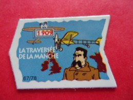 Magnet La Traversée De La Manche 1909 Avion Blériot - Characters