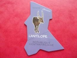 Magnet Brossard Antilope, Tchad République Centrafricaine - Animals & Fauna