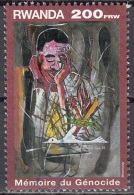 Rwanda 1999 Michel 1471 O Cote (2005) 7.50 Euro Mémoire Du Génocide Cachet Rond - Rwanda