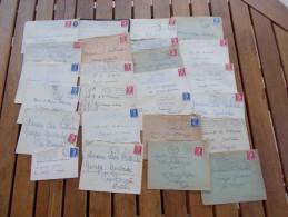 Vp511 - Lot De + De 75 Lettres Avec Mariane De Muller - Port En Plus - 1955- Marianne De Muller
